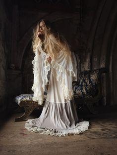 Photography by Nona Limmen Model Skye Varuna Gown Somnia Romantica ^^