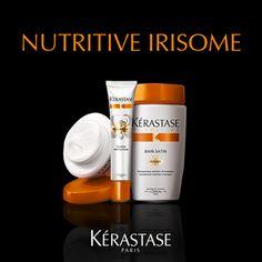 Con la gamma Nutritive Irisome i capelli secchi ritrovano la loro dolcezza e brillantezza. #Kèrastase #Nutritive #Irisome #IlTuoParrucchiere