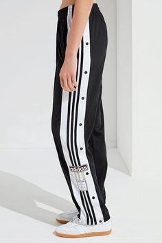 ab055512ddea41 adidas Originals Adicolor Oversized Tear-Away Track Pant