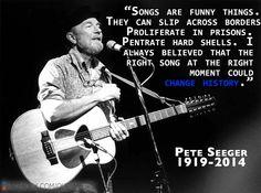 Pete Seeger....