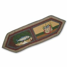Gone Fishing Table Runner Short 16 x 54 In. by Patch Quilts. $25.16. 16 x 54 Inches. For a table with 4 place settings. Table top Décor. Ensembles and Bedding items from Patch Magic. First quality Cotton product,hand layered and hand quilted. Love to comback to be gone fishing again
