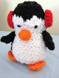 Penguins Free Crochet Pattern. ☀CQ #crochet #christmas