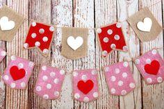 eighteen25: Valentine's Day Heart Banner