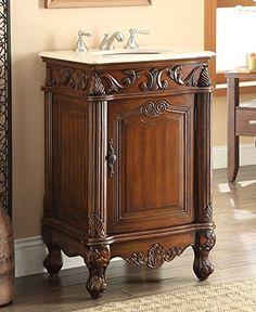 """21"""" Powder Room Special Stella bathroom Sink Vanity Model CF-2801M-TK $445"""