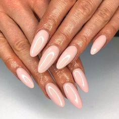Never deny the power of a good nude 💅🏻 These stunning by the magical were glossed up using… Pretty Nail Art, Pastel Nails, Swatch, Salons, Nail Designs, Nude, Inspiration, Beautiful, Beauty