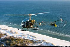 Bell 47D-1 aircraft picture