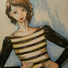 fashion sketch new project