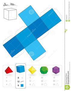 Manualidades- Cubo papel