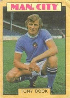 QPR Q.P.R TONY HAZELL A/&BC-FOOTBALL 1973 BLUE BACK-#010