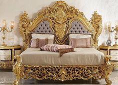 เฟอร์นิเจอร์หรู,Luxury Furniture Thailand ,ห้องนอนหรู,โซฟาหรู,Luxury Furniture T Fancy Living Rooms, Fancy Bedroom, Bedroom Bed Design, Bedroom Furniture Design, Home Room Design, Bed Furniture, Home Decor Bedroom, Royal Bedroom, Luxury Bedroom Sets