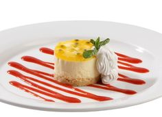 Passion fruit mousse recipe! Looks pretty but not too difficult!