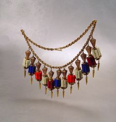 Vintage Miriam Haskell Statement Fringe Charm by sodear2myheart, $475.00