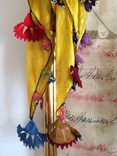 antique Turkish needle lace