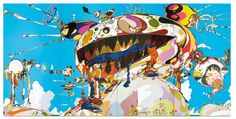 Takashi Murakami tableau monstre