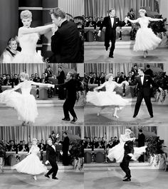 Lucille Ball and Van Johnson I Love Lucy s. 4 e. 27 - The Dancing Star