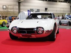 Classic Car News Pics And Videos From Around The World Retro Cars, Vintage Cars, Japan Motors, Type E, Toyota 2000gt, Best Muscle Cars, Cabriolet, Toyota Cars, Japanese Cars