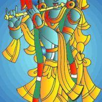 Dashavatar / 10 Avatars of Lord Vishnu Krishna Avatar, Indian Folk Art, Lord Vishnu, Krishna Art, Mural Painting, Collage Art, Arts And Crafts, Sketches, Ganesh