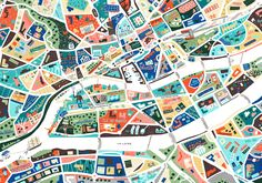 A Map of Nantes - Antoine Corbineau • Illustration & Design