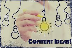 How to Keep Generating New #Ideas for your Content? #Content #Optimization #Tips