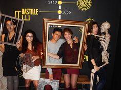 Les Poly-Girls sont allés au bout de leur mission à la Bastille en 56mn! Félicitations!
