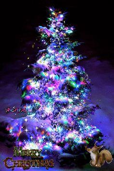 Animated Christmas Tree, Merry Christmas Gif, Animation, Holiday Decor, Animation Movies, Motion Design