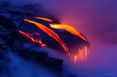 hawaiian volcano goddess | ... Images of the Divergent Colors of Lava in Hawaii | ExposureGuide.com