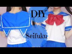 DIY Transfer T Shirt to Seifuku/Cat Seifuku | Japanese School Uniform - YouTube