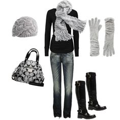 Winter wonderland, created by codson, Seriously adore each part of this outfit,I NEED it! :)