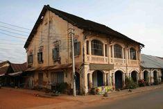 French Colonial Plantation Vietnam | The strip, Savannakhet