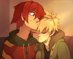 Gotta love soft Kirishima too~