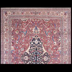 Tabriz Rug - 40-2228 | Persian Formal 10' 7'' x 14' 0'' | Red, Origin Persia…