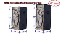 Special Offers - Quictent  Upgraded 24x24x48/55 2 in 1 Hydroponics Extension Grow Tent Eco-friendly Reflective Mylar Hydroponic Dark Room Box For Sale - In stock & Free Shipping. You can save more money! Check It (February 24 2017 at 08:31AM) >> https://growinglightfixtures.com/quictent-%e2%85%a1-upgraded-24x24x4855-2-in-1-hydroponics-extension-grow-tent-eco-friendly-reflective-mylar-hydroponic-dark-room-box-for-sale/