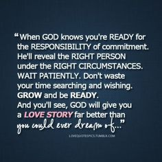 keep God first in our relationship...