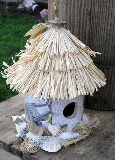 beachy bird house