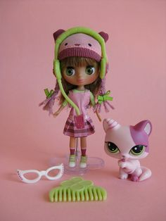 Blythes Littlest Pet Shop Fashion Cats| Flickr - Photo Sharing!