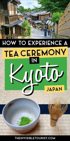 Is a Kyoto tea ceremony on your list of things to do in Japan? My review covers what to expect, how English speakers can book a Japanese tea ceremony & more! | The Invisible Tourist | Things to do in Kyoto | What to do in Japan | Kyoto Japan | #kyoto #japan #thingstodo #culturaltravel