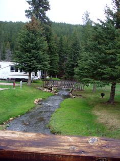 Fish N Fry Campground at Deadwood, South Dakota