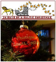 """A Baltic Christmas Day 7 - Zinta Aistars and """"Christmas, how it was, how it will be"""""""