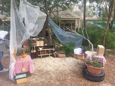 """Outdoor kitchen from Journey into Play ("""",)"""