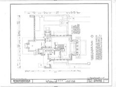 Frank Lloyd Wright Home Plan House Thoughts Pinterest