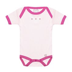 SAVE 70% !! While supplies last! Cute Short Sleeve Bodysuit - Baby Apparel - by SwaddleDesigns #Womanownedbusiness #Baby #BabyGirl #Newborn #BabyShower #Pink