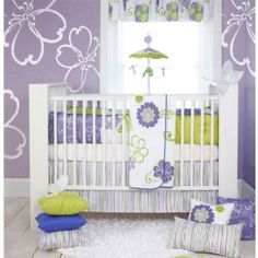 Purple Crib Bedding for Baby Girls: Beautiful and Awesome Crib Bedding Sets