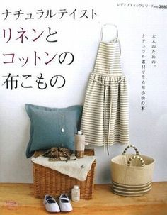 Natural Taste Zakka Goods Made of Linen & Cotton - Japanese Sewing Pattern Book for Women - JapanLovelyCrafts