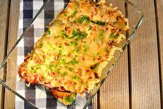 witlofschotel met boursin en ham uit de oven