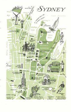 Sydney Australia Map City.8 Best Sydney Top Tourist Attractions City Travel Maps Images