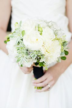Absolutely stunning inspiration shoot. Who doesn't love a crisp dahlia and peony bouquet?   Photography: Angie Silvy Photography - angiesilvyphotography.com  Read More: http://www.stylemepretty.com/australia-weddings/2014/07/29/pretty-summertime-inspiration-shoot-at-fernhill-estate/