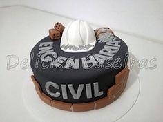 Engineering Cake, Civil Engineering, Cake Images, Cake Designs, Birthdays, Desserts, Birthday Cakes, Architecture Design, Art Drawings