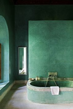 the green bath at El Fenn