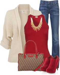 RED BOOT... LOVE
