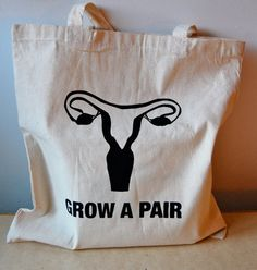 Grow A Pair Tote